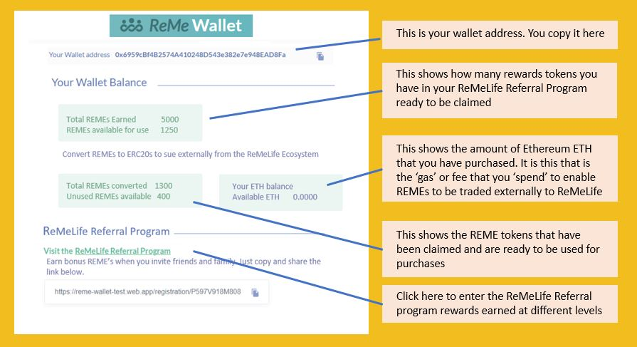 ReMe Wallet Introduction